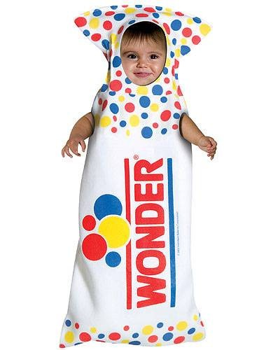 Baby Wonder Bread Costume