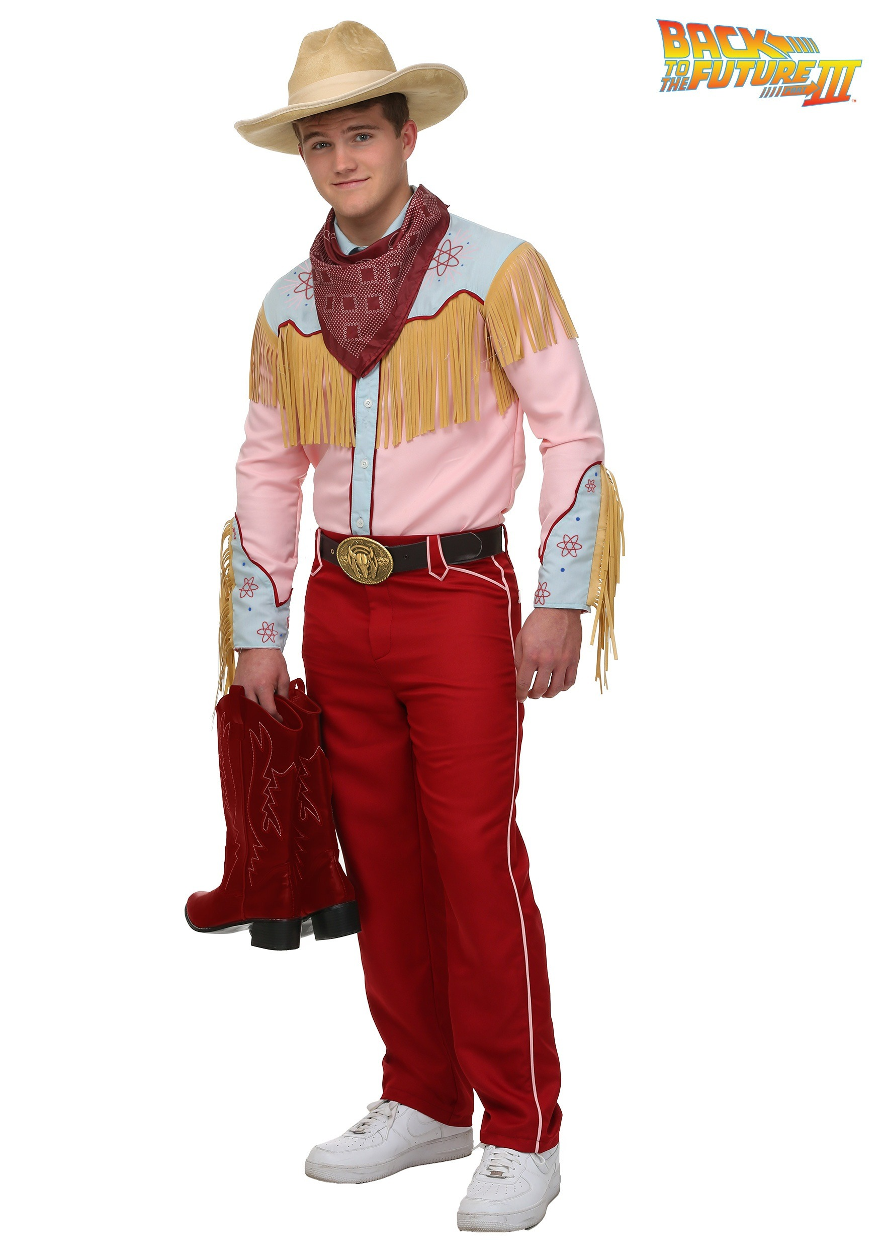 Back to the Future III Cowboy Marty Costume