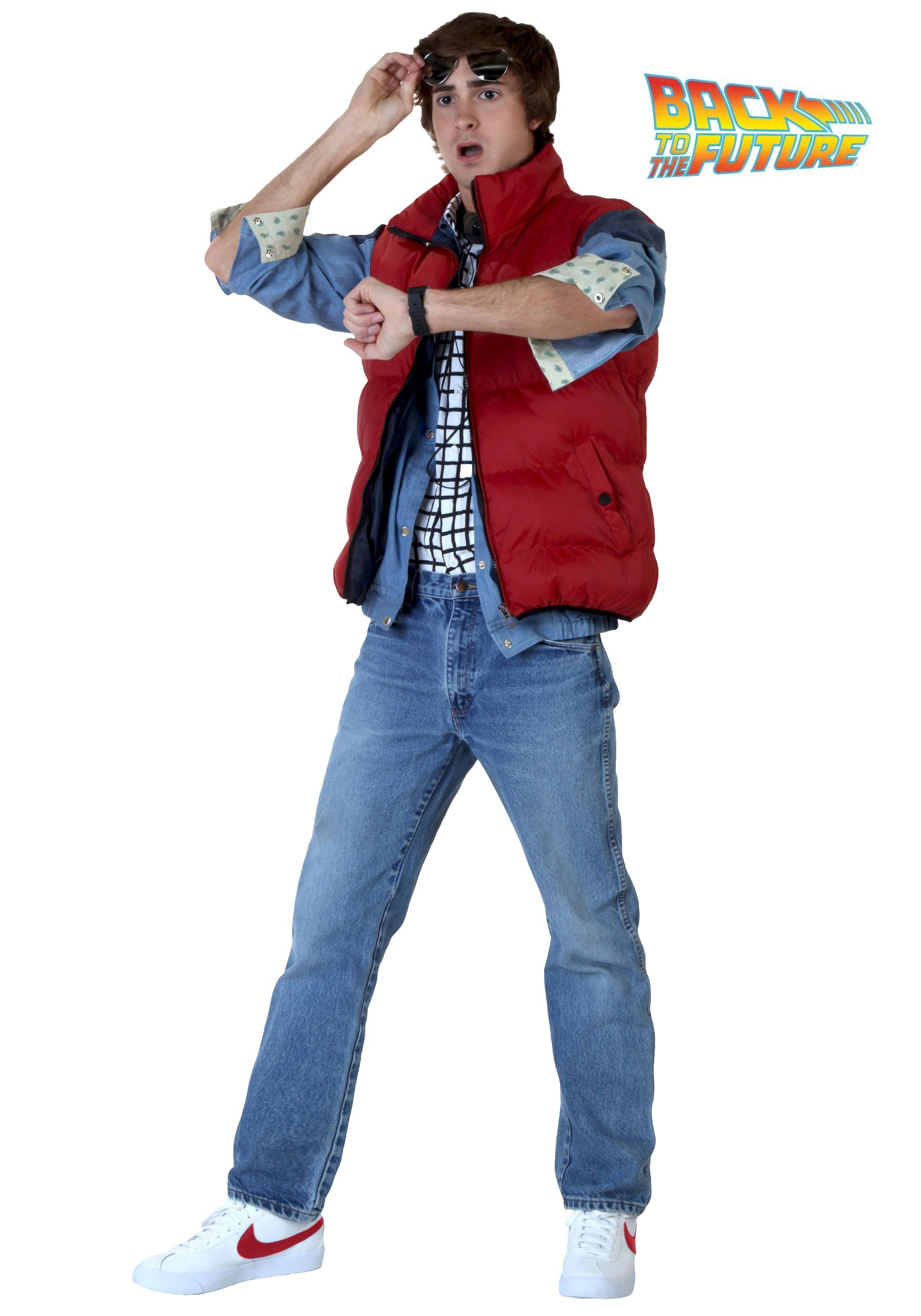 Back to the Future Marty McFly Costume