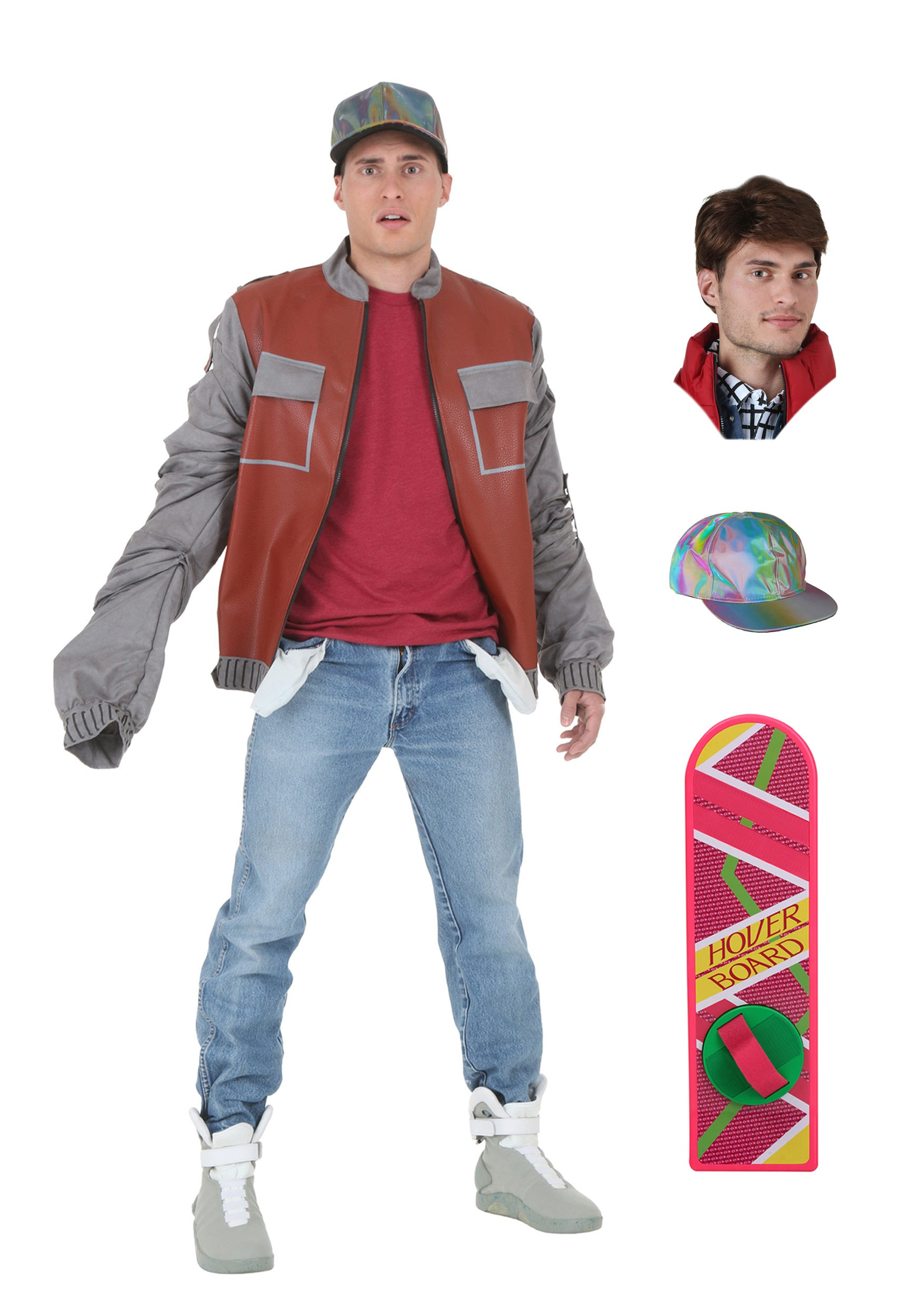 Back to the Future Marty McFly Jacket Package