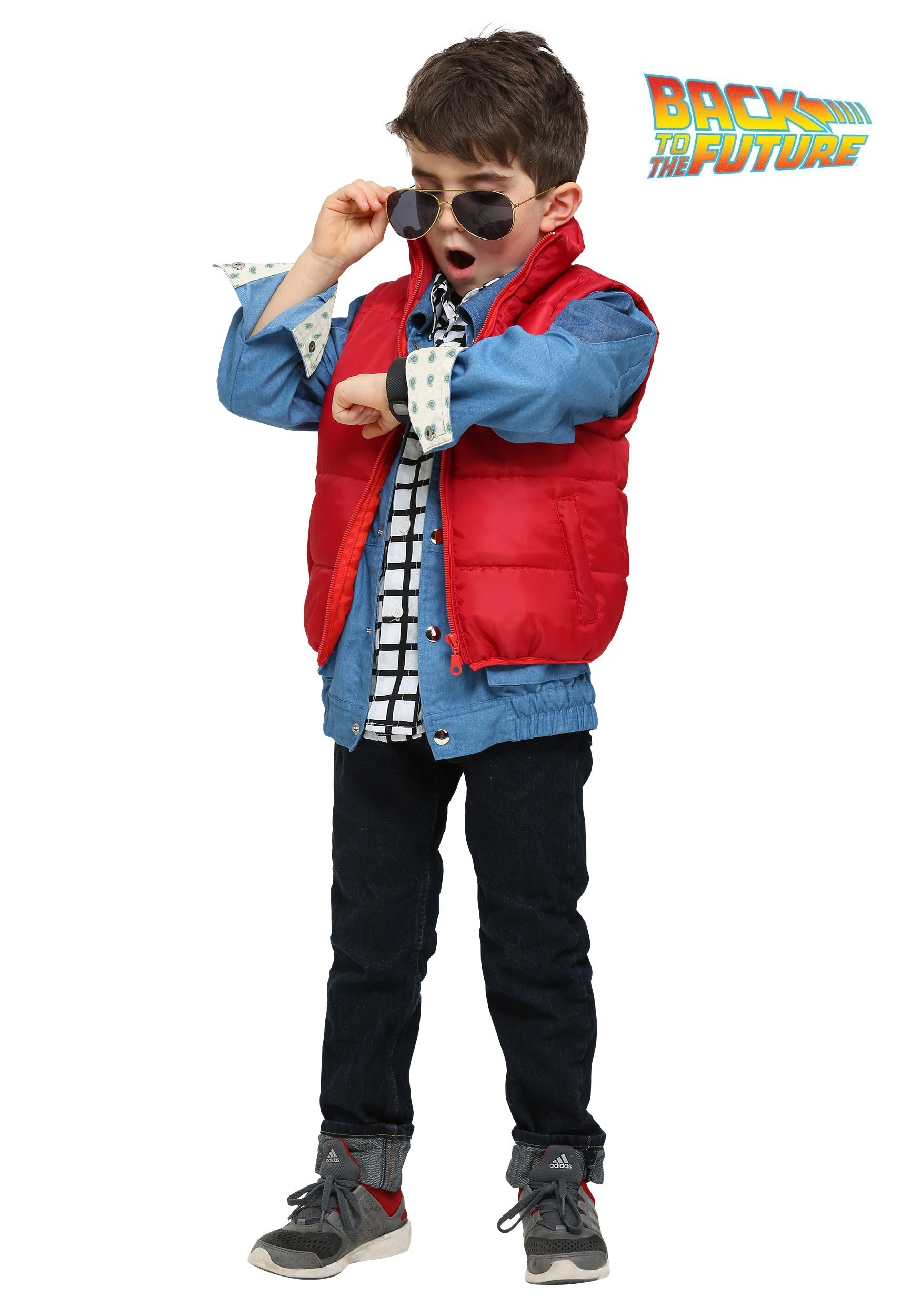 Back to the Future Marty McFly Toddler Costume