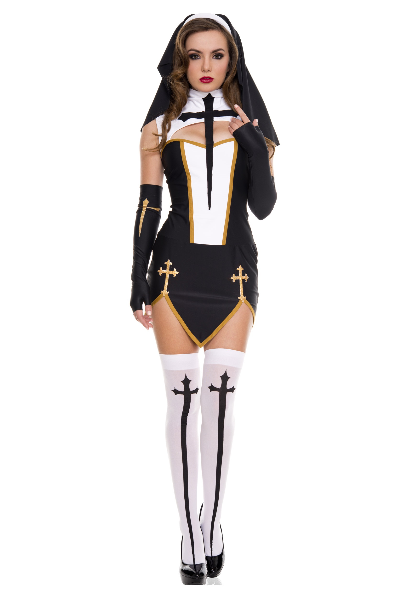 Bad Habit Nun Costume