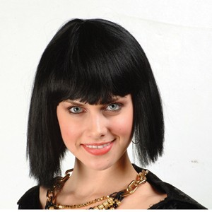 Barbara Ann Bob Wig - Black