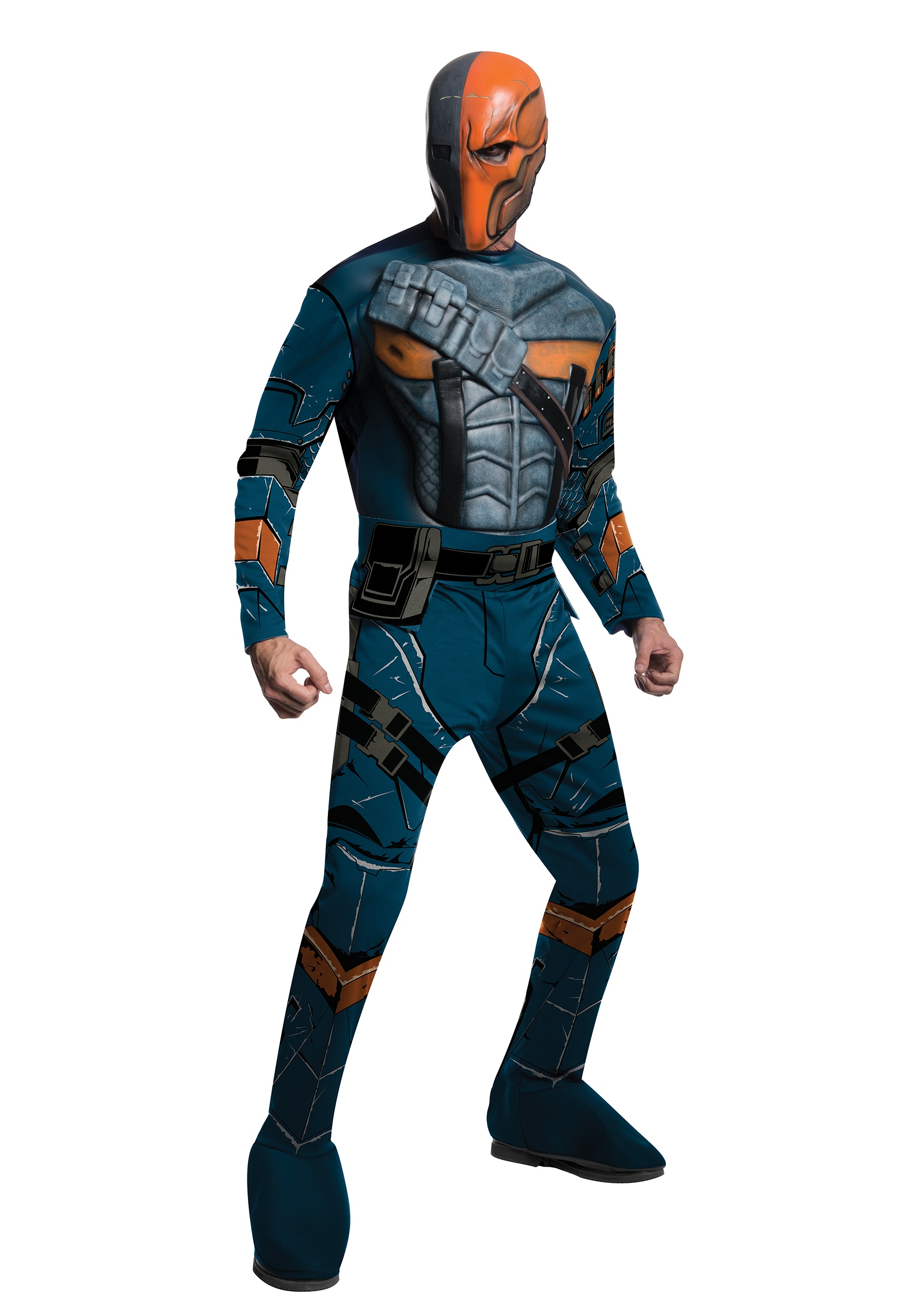 Batman: Arkham Origins Adult Deluxe Deathstroke Costime
