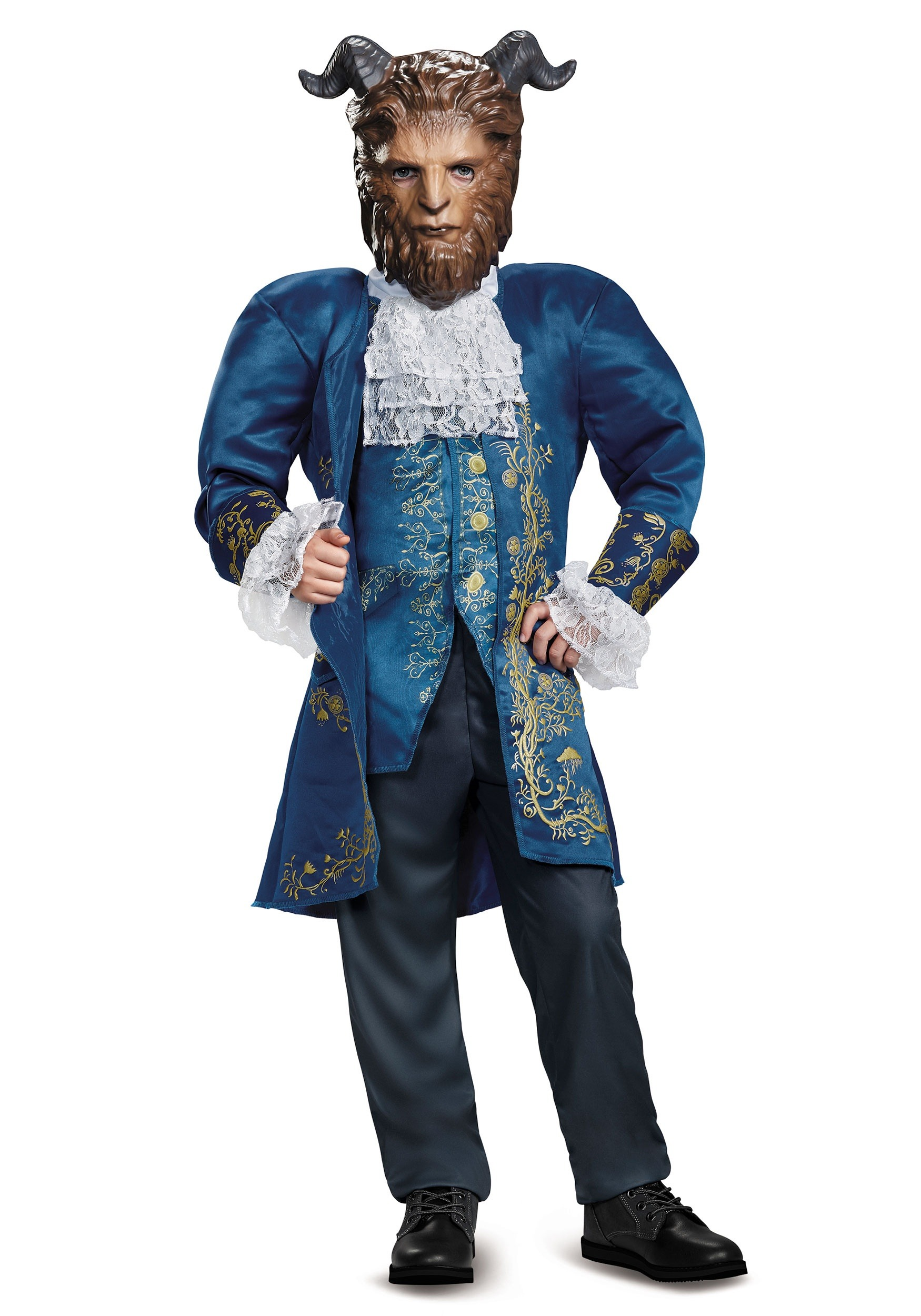 Beauty and the Beast Deluxe Beast Boys Costume