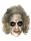Beetlejuice 3/4 Vinyl Mask w/ Hair