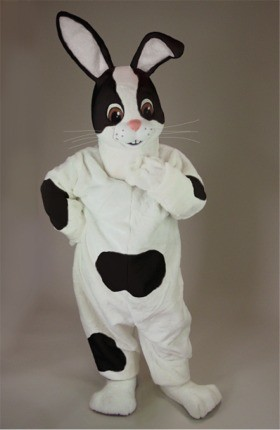 Bernie Rabbit Mascot Costume