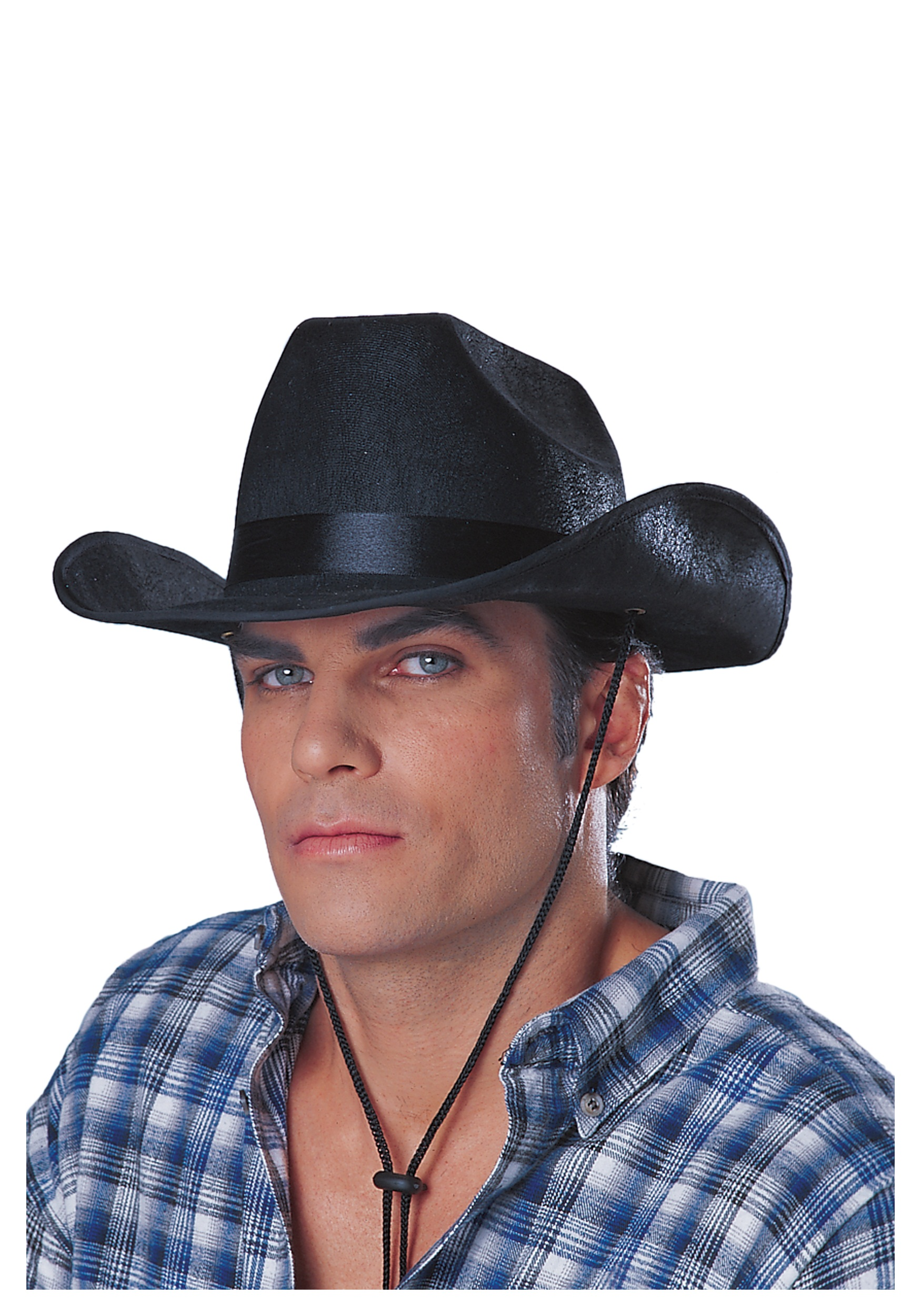 Black Cowboy Rancher Hat