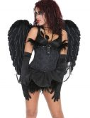 Black Heavenly Angel Wings