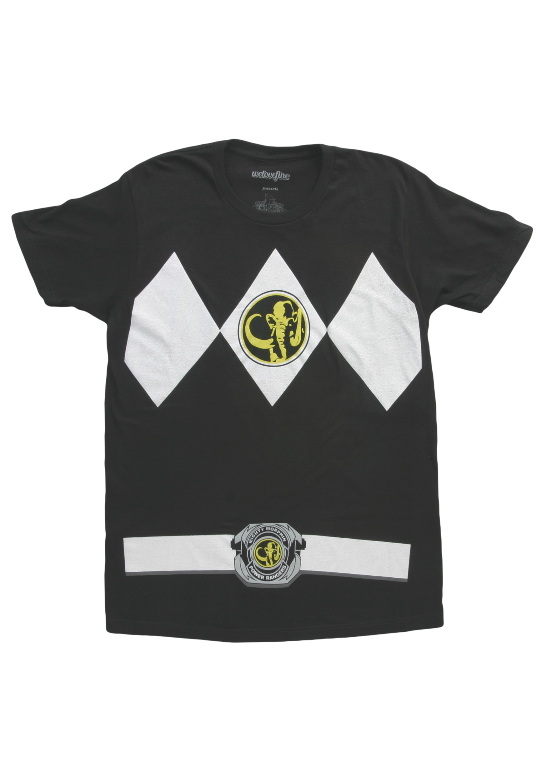 Black Power Ranger T-Shirt