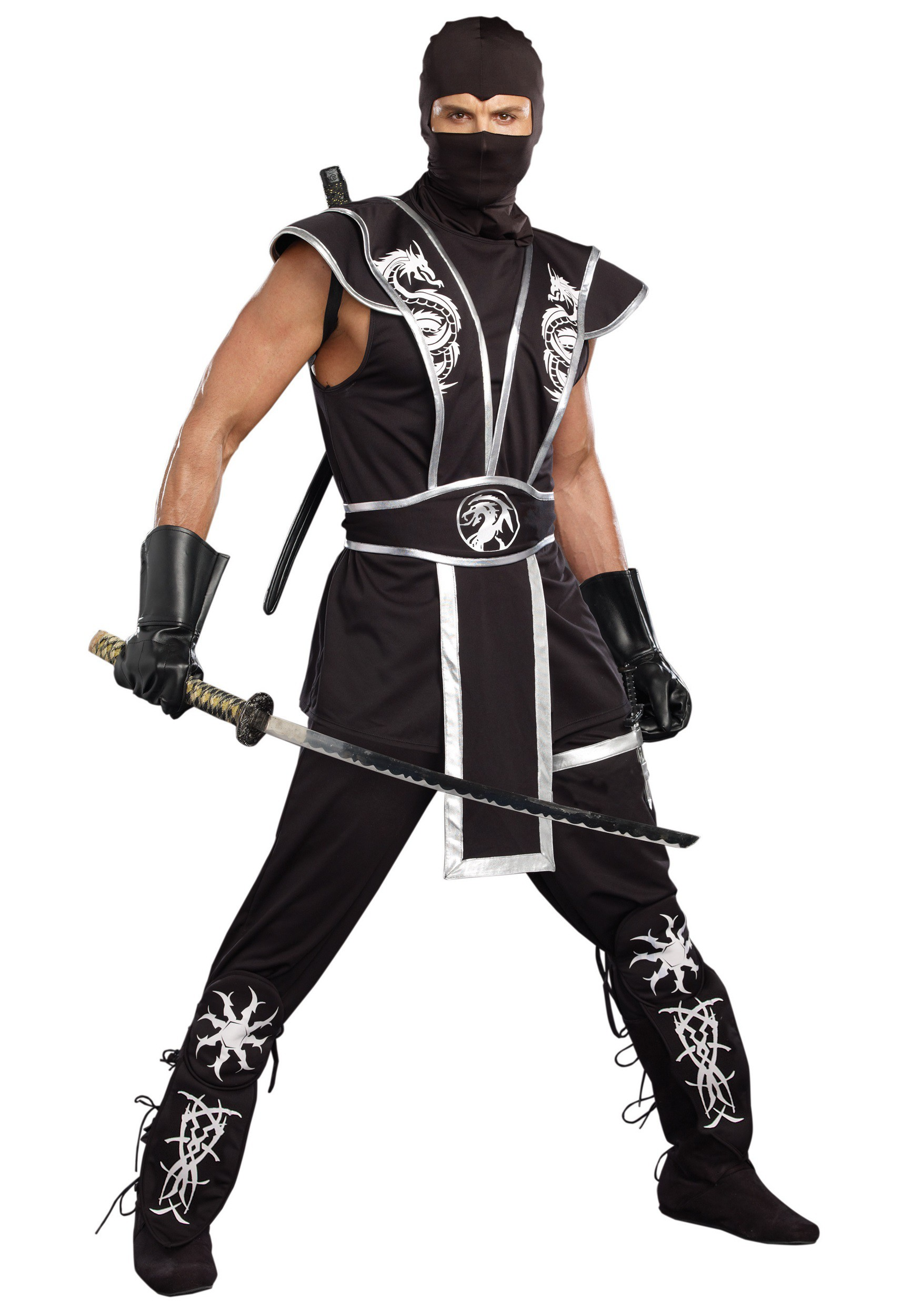 Blades Of Death Men's Ninja Costume
