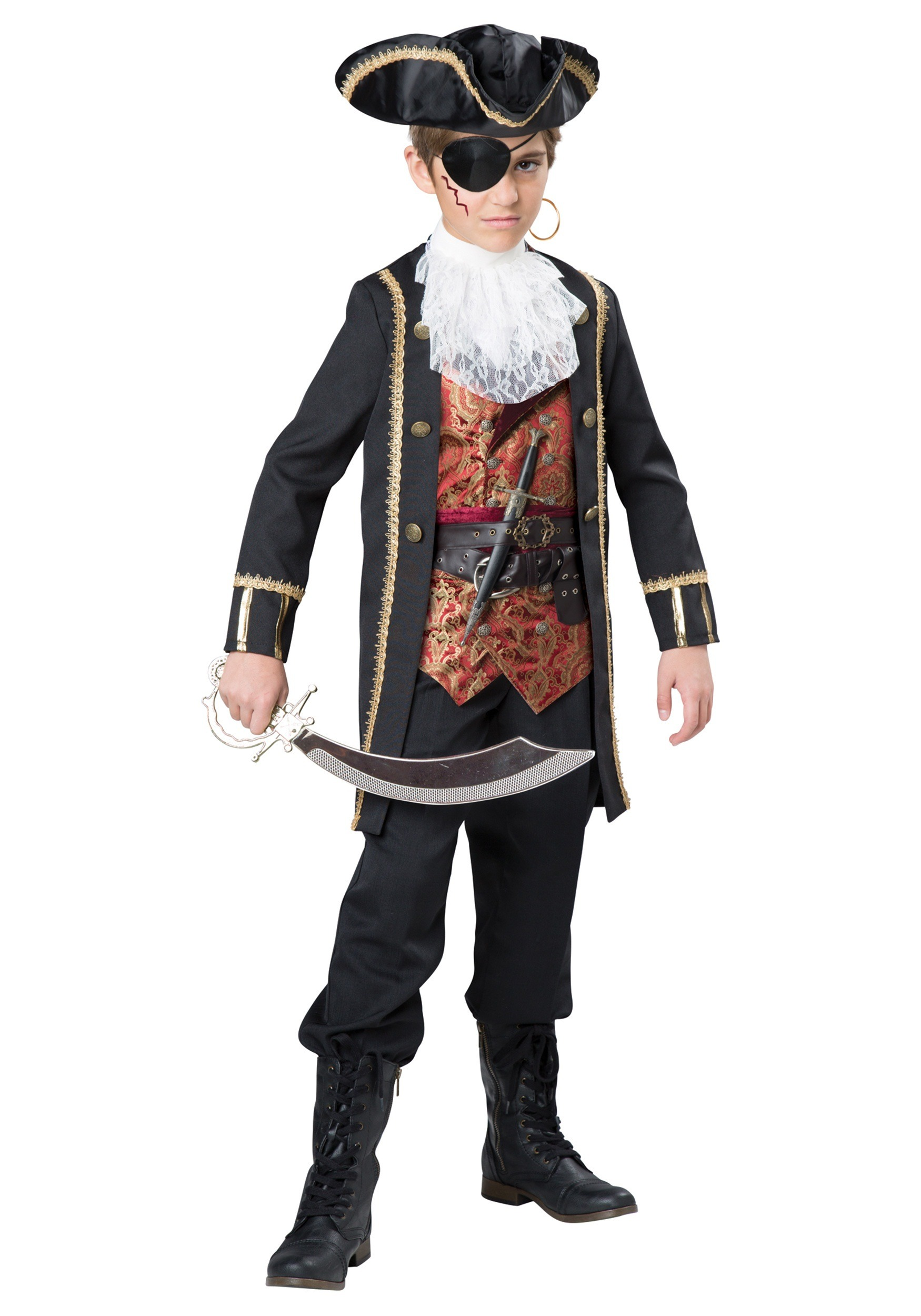 Boys Captain Scurvy Costume