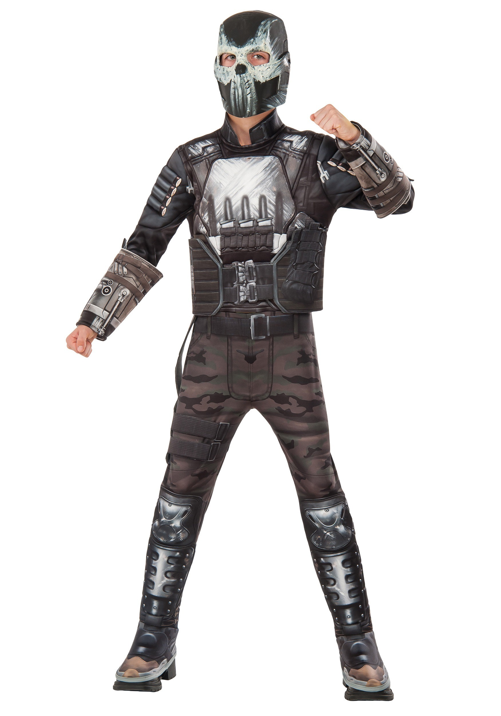 Boys Civil War Crossbones Deluxe Costume