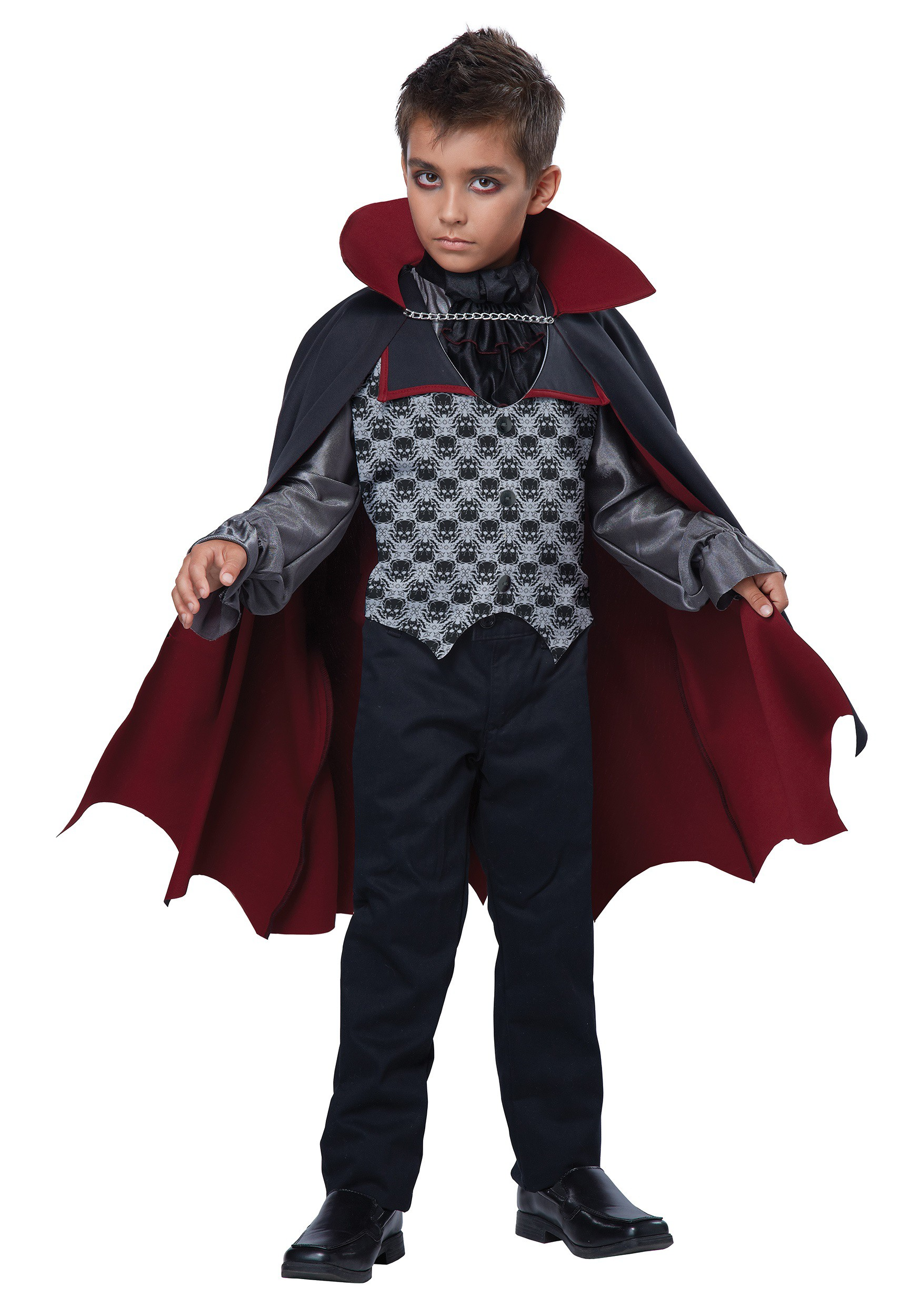 Boys Count Bloodfiend Vampire Costume