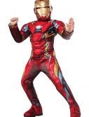 Boys Elite Civil War Iron Man Costume