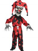 Boys Evil Bobble Head Jester Costume