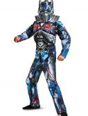 Boys Optimus Prime Muscle Costume