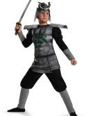 Boys Samurai Warrior Muscle Costume