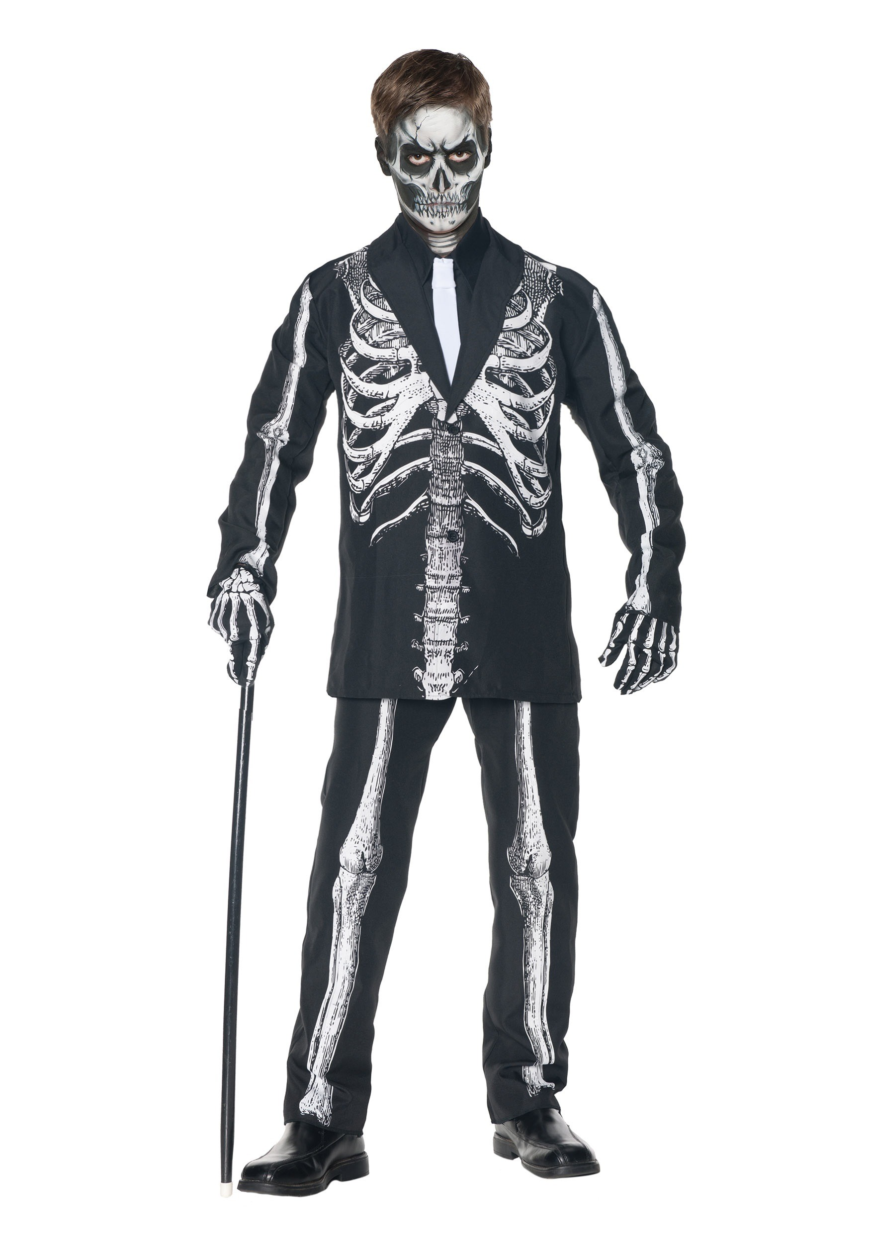 Boys Skeleton Suit