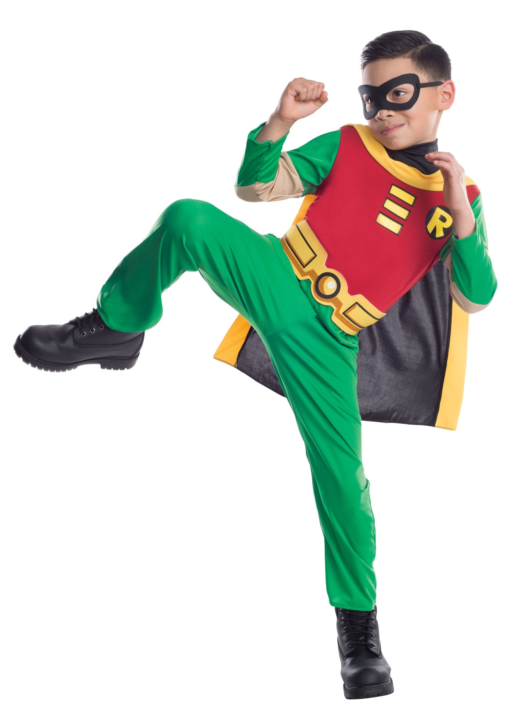Boys Teen Titans Robin Costume