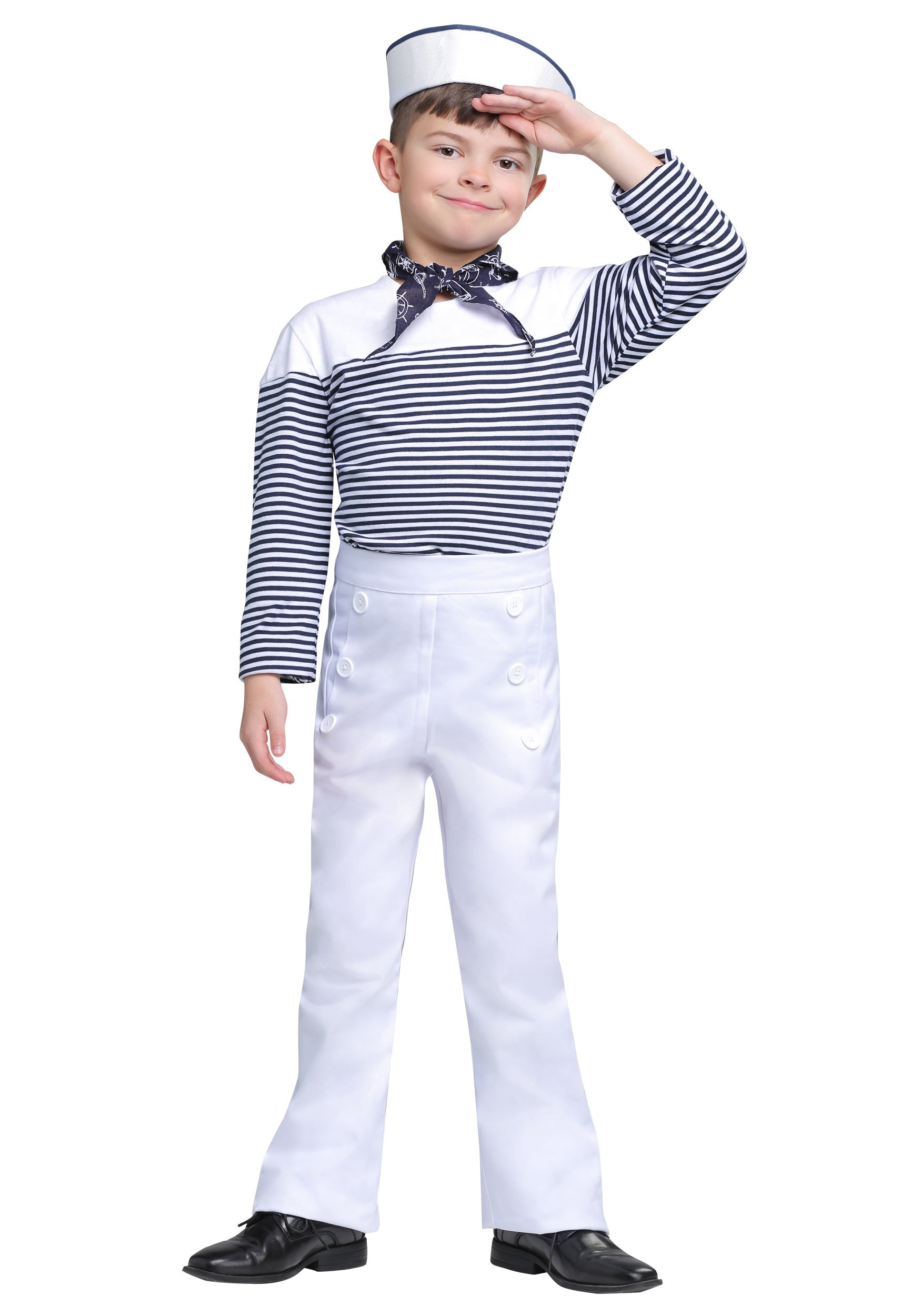 Boy's Vintage Sailor Costume