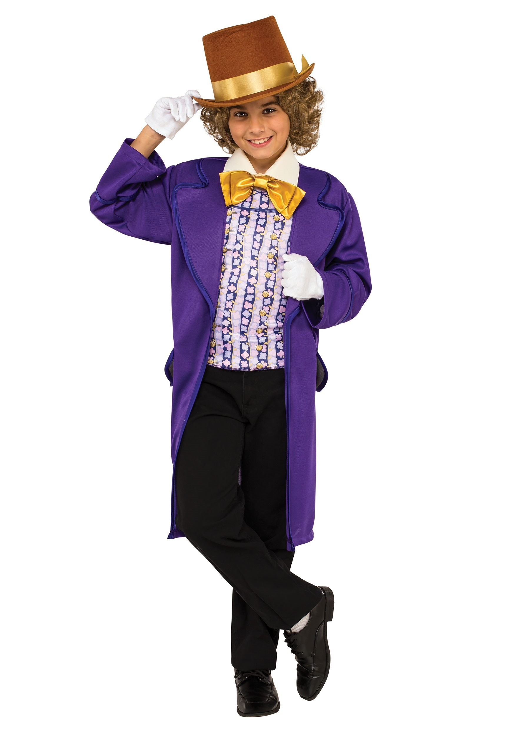Boys Willy Wonka Costume