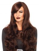 Brown Long Wavy Wig
