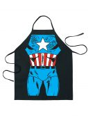 Captain America Character Apron