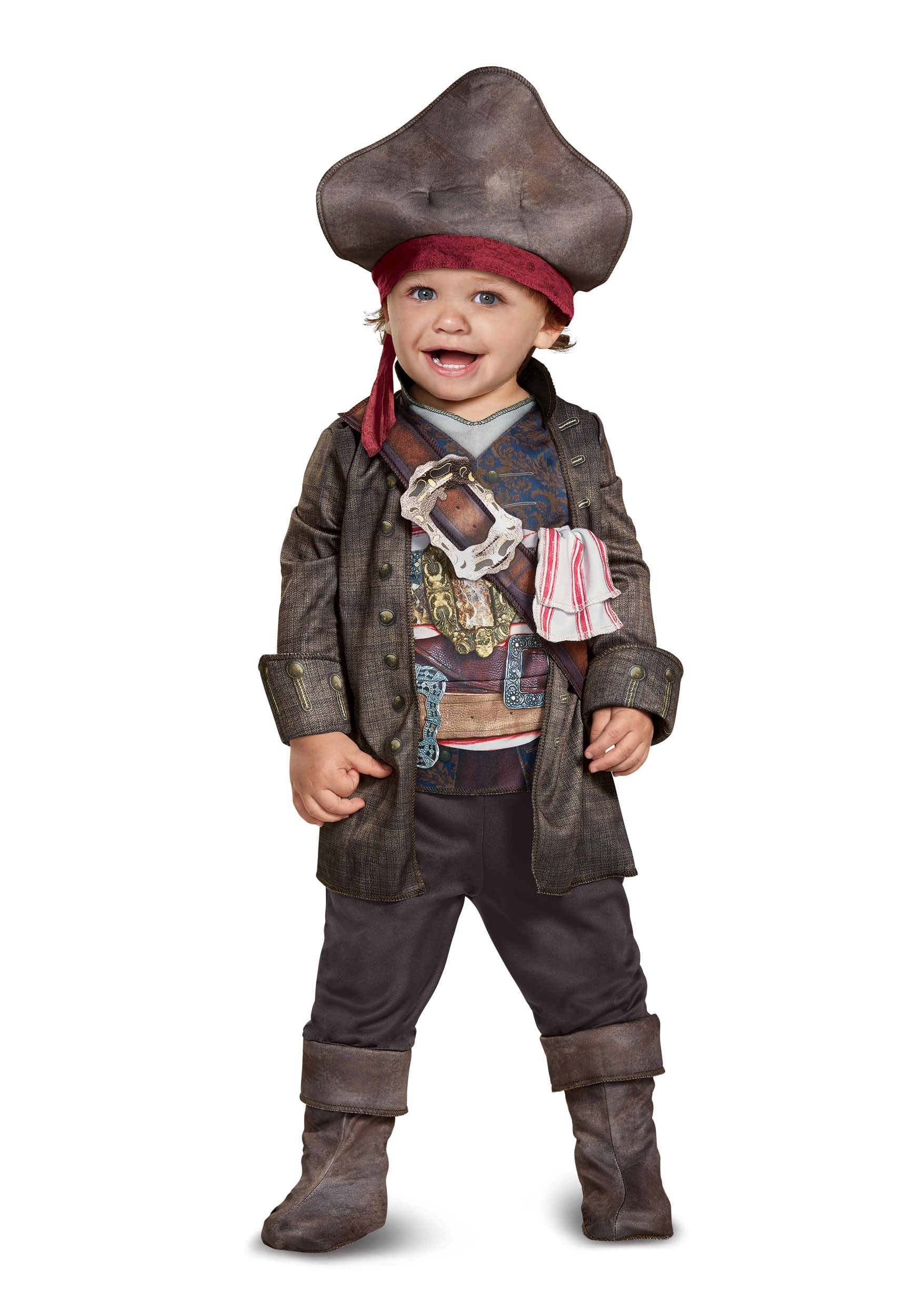 Captain Jack Sparrow Classic Toddler Costume