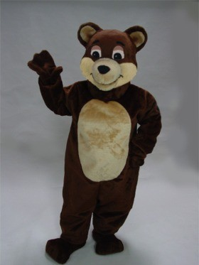 Cartoon Bear Mascot Costume
