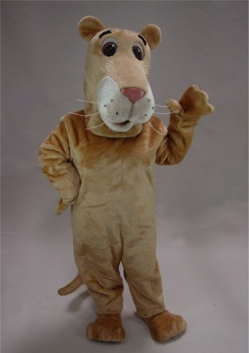 Cartoon Lioness Mascot Costume