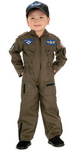 Child Air Force Fighter Pilot Costume