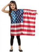 Child American Flag Dress