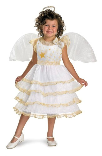 Child Angel Costume - Angel Belle