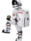 Child Astronaut Jumpsuit - White with Embroidered Cap