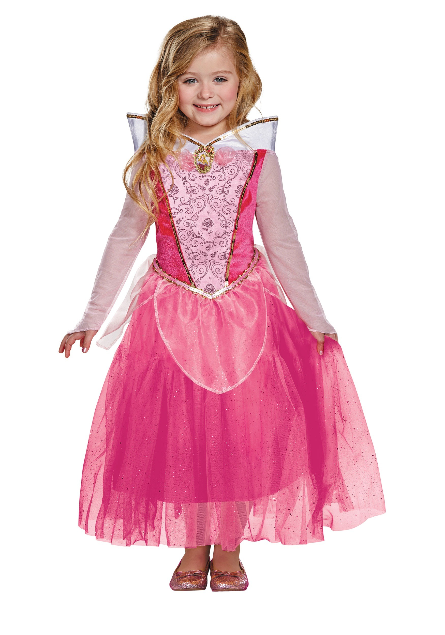 Child Aurora Deluxe Costume