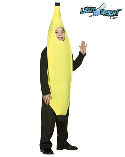 Child Banana Costume - Lightweight
