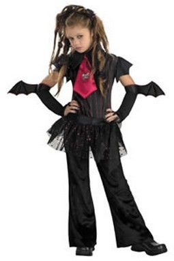 Child Bat Girl Costume