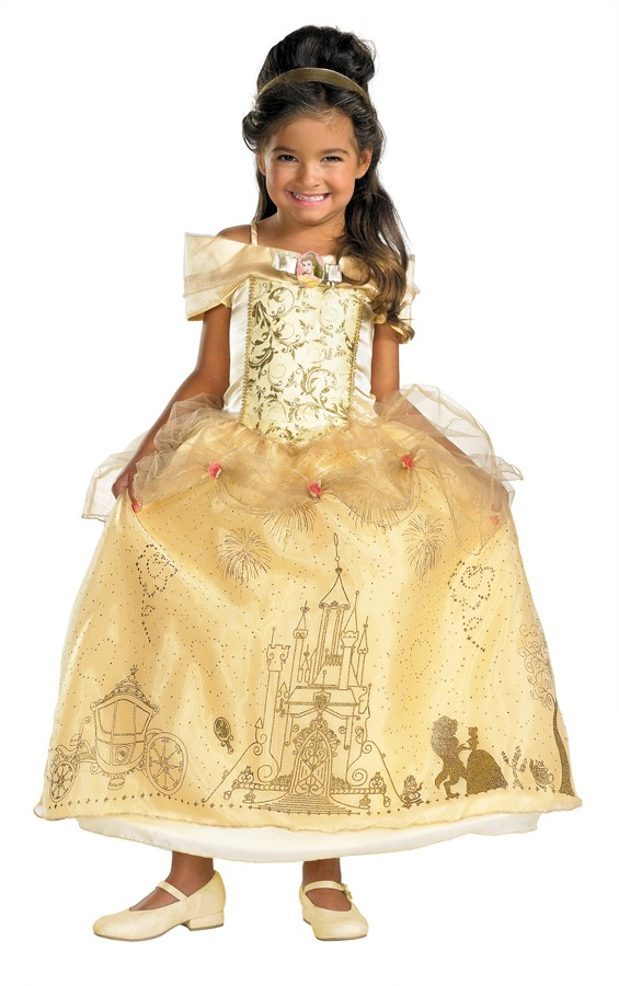 Child Belle Prestige Costume