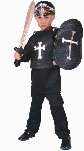 Child Black Knight Costume