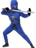 Child Blue Ninja Master Costume