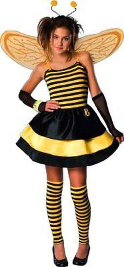 Child Bratty Bee Costume