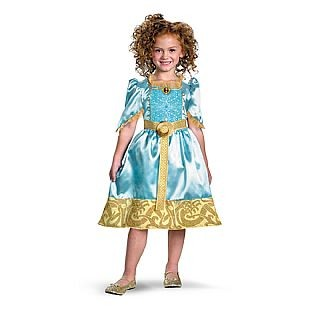 Child Brave Merida Costume