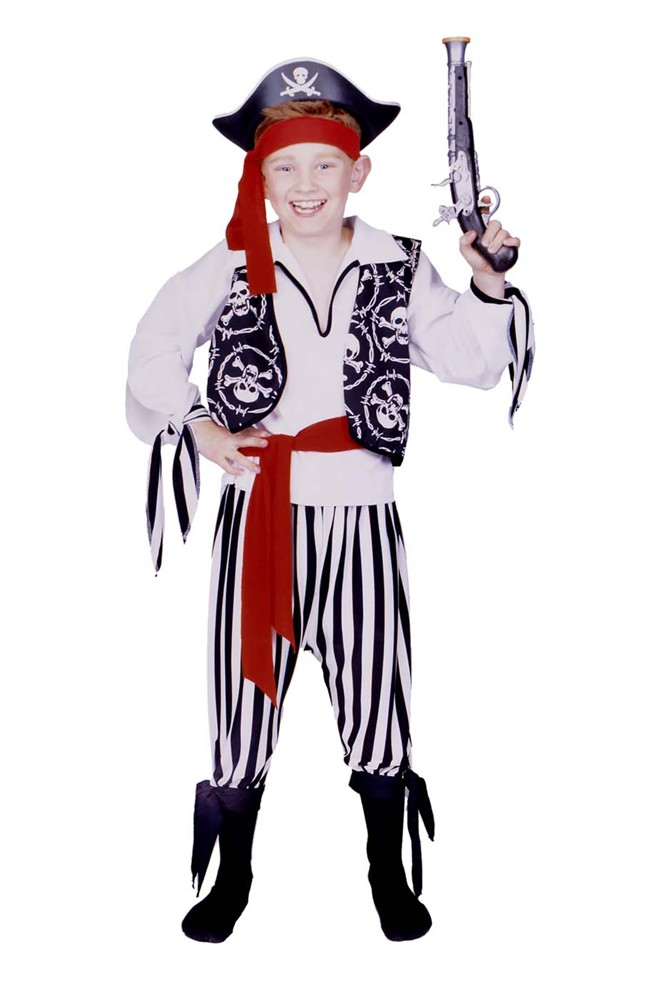 Child Buccaneer Pirate Boy Costume