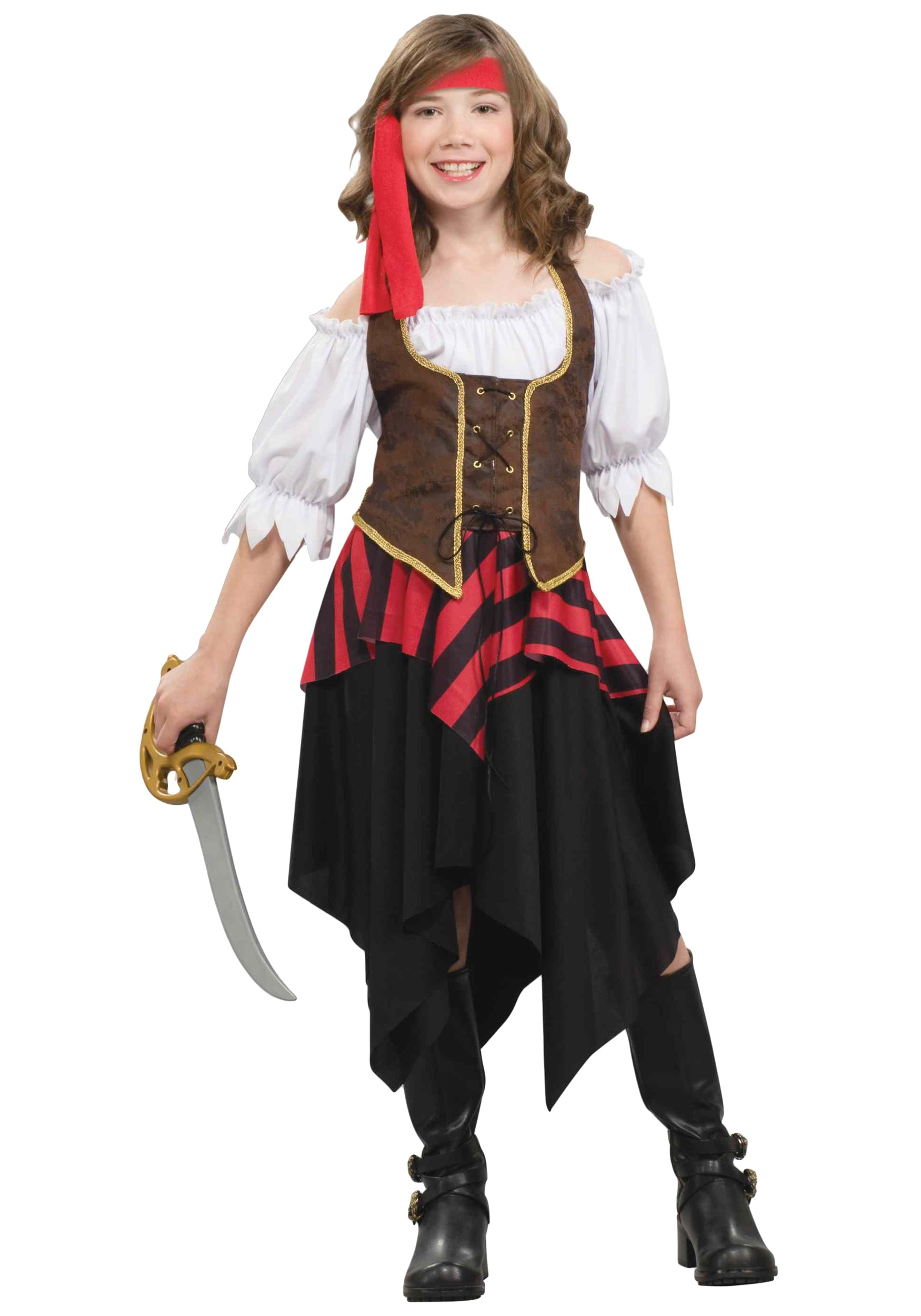 Child Buccaneer Sweetie Costume