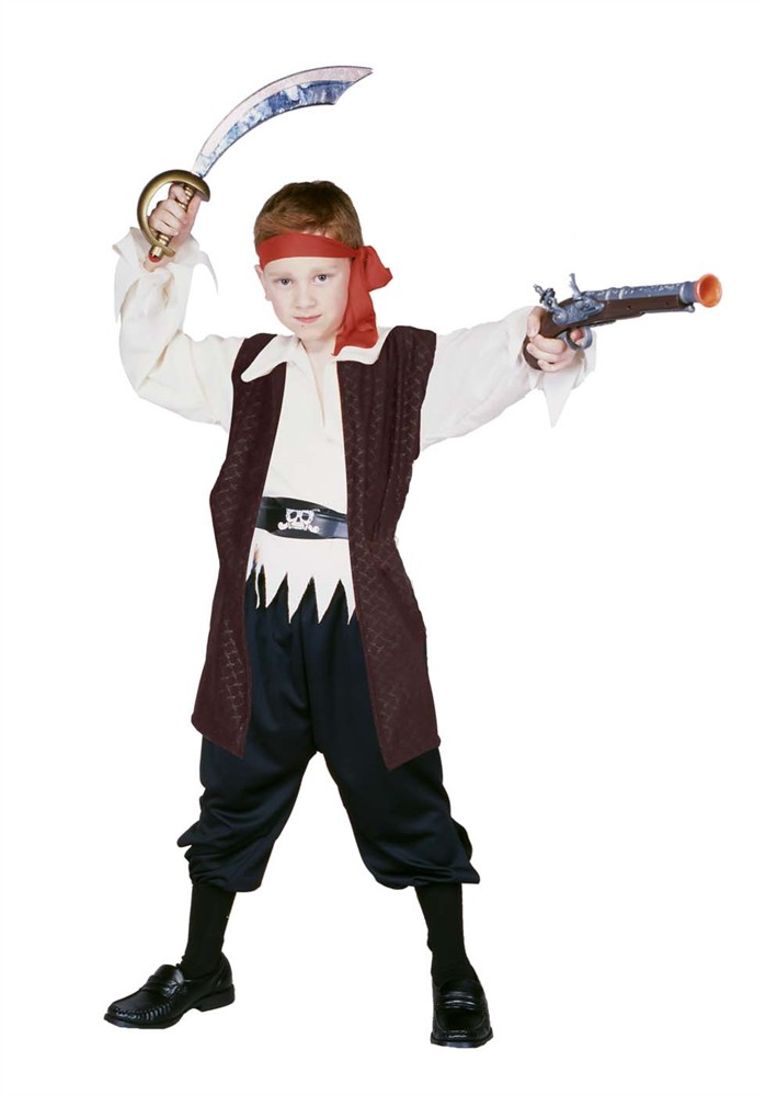 Child Caribbean Pirate Boy Costume