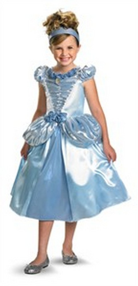 Child Cinderella Costume - Shimmer Deluxe