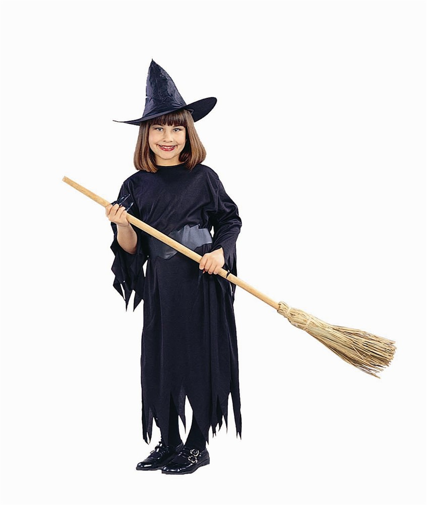 Child Classic Witch Costume w/Hat