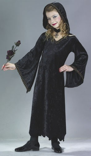 Child Contessa Hooded Robe Costume