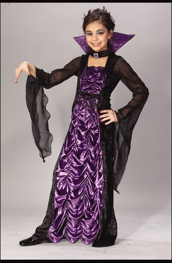 Child Countess of Darkness Costume